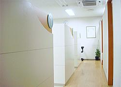 【個室型診療室】 プライバシーも安心
